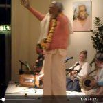Srila B.V. Sadhu Maharaja Kirtan at Yoga Vidya Centre in Bad Meinberg, Germany