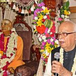 LK Advani, one of India's senior most politician speaks on Srila Prabhupada