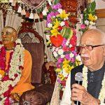 LK Advani, one of India's senior most politician speaks on Srila Prabhupada