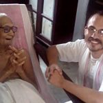 103 years old disciple of Srila Prabhupada