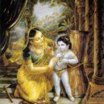 Sri Damodarastakam Verse Two