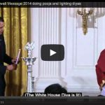 President Obama's Diwali Message 2014