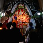 Gaura Arati at Sri Radha Damodar Temple Peru