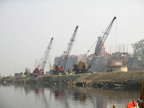 yamuna-bridge-construction
