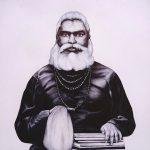 Srila Bhaktivinoda Thakur drawing by Rasa Lila Dasi