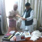 Meeting with Sivpal Singh Yadav