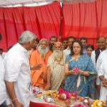 Bhumi Pujan of Mathura Mahotsava conducted at Chandrodaya Mandir site