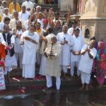 Devotees pledged a clean Yamuna on her appearance day