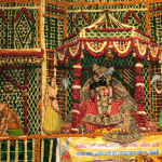 Flower decoration in Vrindavan temples began on Kamda Ekadashi