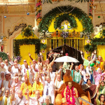 100,000 Attend 40th Anniversary of Krishna Balarama Temple