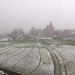 Vrindavan Hailstorm Video