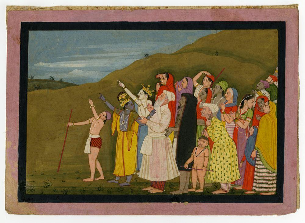 Krishna-shows-Eid-Moon-to-Muslim-companions
