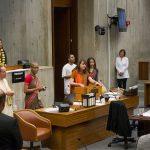 Boston City Council Hears the Mahamantra