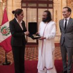 Sri Sri Ravi Shankar conferred with Peru's highest award 'Grand Officer'