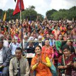 Huge Hindu Gathering held to reinstate Hindu State in Nepal