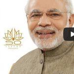 Prime Minister of India Narendra Modi's Message for Srila Prabhupada's Journey to the USA