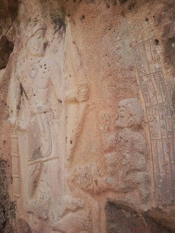 6000 Year Old Lord Rama And Hanuman Carvings In Silemania