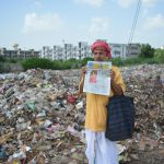 Municipality claims garbage entirely removed from Yamuna Bank