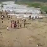 Water returns to river after twenty year drought in southern India