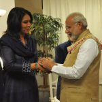 Meeting of Tulsi with Modi