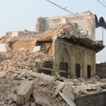 Historic Mirzapur Dharmashala destroyed