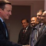 ISKCON Leaders Meet Indian PM Modi and UK PM David Cameron