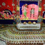Shri Radhashyamsundar's annakut darshan