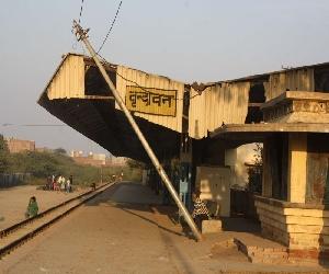 Vrindavan rail station