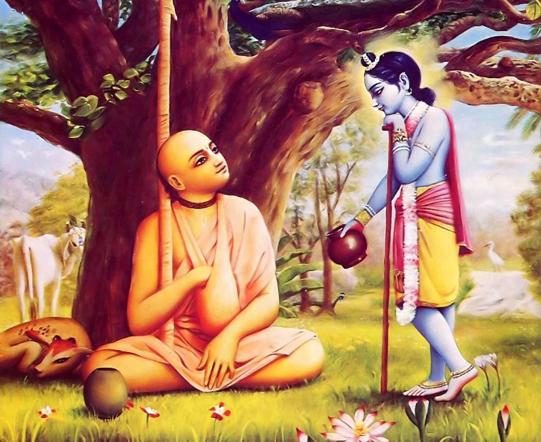 Krishna-offers-Madhavendra-Puri-Milk1
