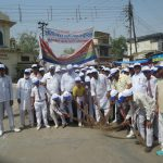 A thousand hands to clean Vrindavan today