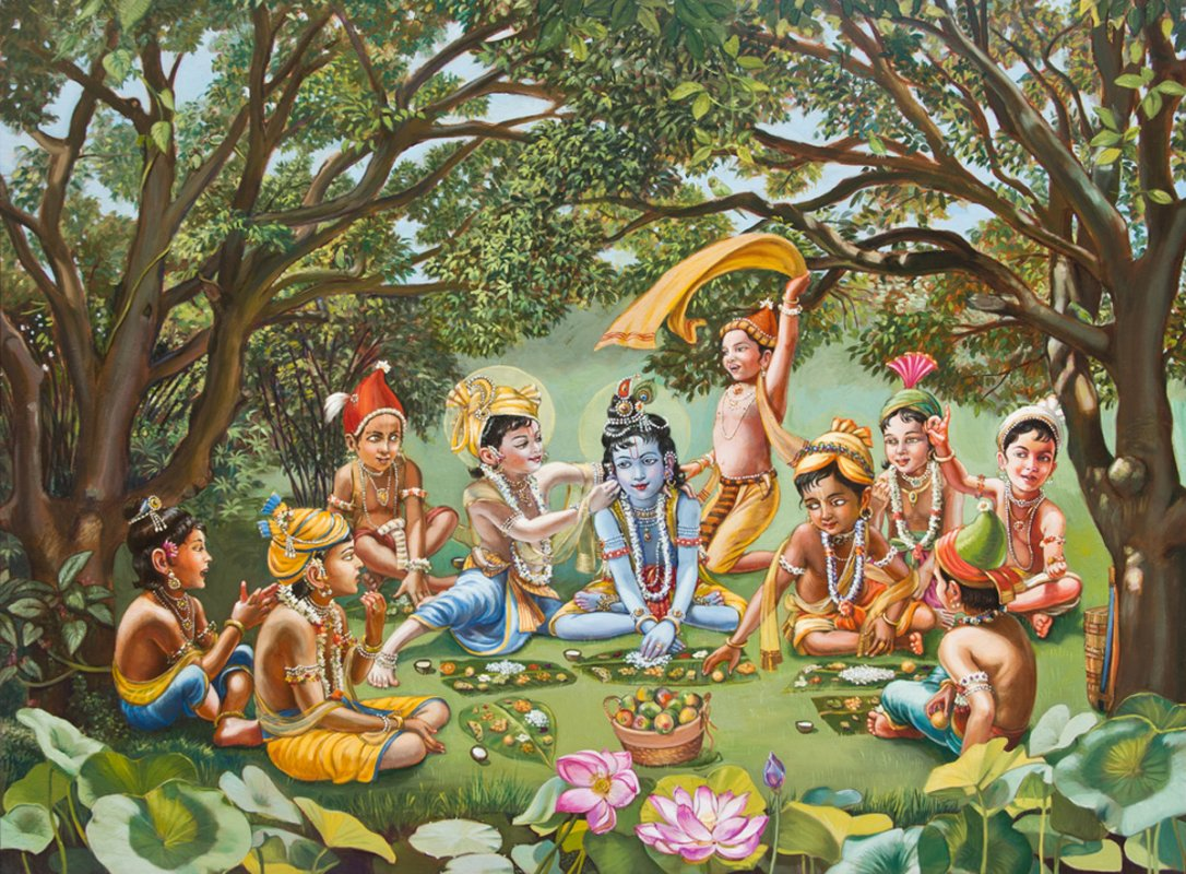 krishna_eats_lunch_with_friends