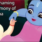 The Naming Ceremony of Radha
