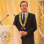 UK Prime Minister David Cameron Celebrates ISKCON's 50th Anniversary