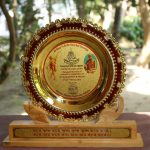 Award given to the WVA – VVRS for its participation in the Chaitanya Janmotsav 2016 organized by Gaudiya Mission in Kolkata, India