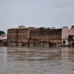 Yamuna water level on the rise, Parikrama Marg partly underwater