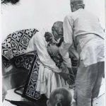 Never published rare photo of Srila B.R. Sridhar Maharaj and Srila A.C. Bhaktivedanta Swami Maharaj
