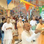Janmastami 2016 Vienna, Gopananda Bon Maharaj, Bhakti Prasad Sadhu Maharaj