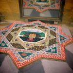 Cultural art of Saanjhi being displayed in Vrindavan Temples