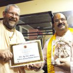 Sri Ji Baba receives Audarya Award