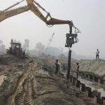 NGT halts the entire construction work on the Yamuna bed in Vrindavan