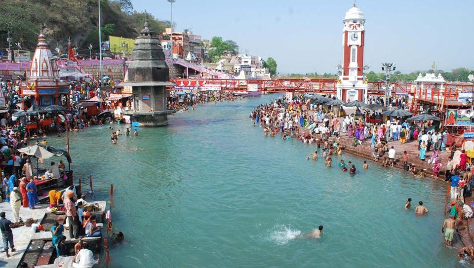 Ganga Yamuna Living Entities