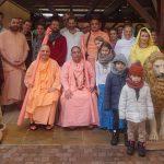 Sri Bhakti Vichar Vishnu Maharaj European tour report