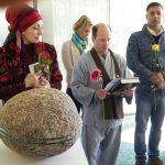 Vaishnavas participate at the IGA Berlin 'Intercultural dialogue' pavilion
