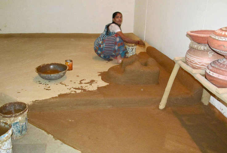 cow dung India