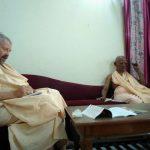 Swami B.A. Paramadvaiti and Srila Gopananda Bon Maharaja to meet Yogi Adityananth