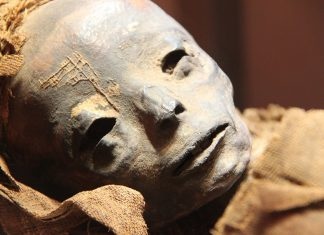 Peruvian Mummy with Brahmin thread