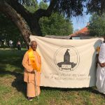 Srila Gopananda Bon Maharaj at the 24th Vaishnava Mela in Hungary