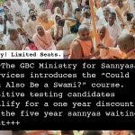 """""""Could You Also Be a Swami?"""" Course"""